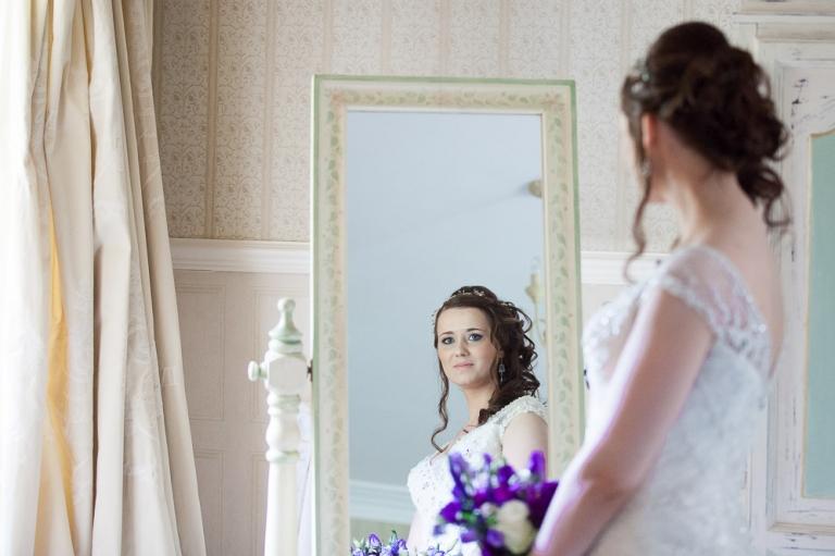 Donna + Jonny - wedding at Fernie Castle, St. Andrews, Cupar - White ...