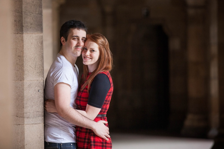 Engagement photography Edinburgh photographer old town