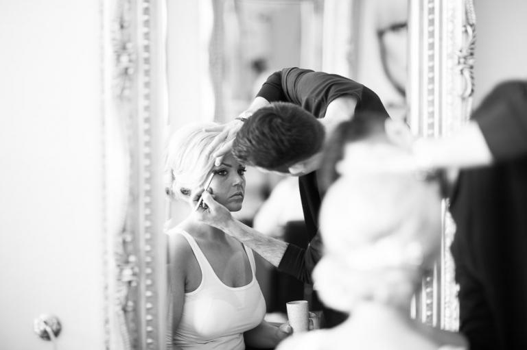Keavil House Hotel wedding photography bride makeup