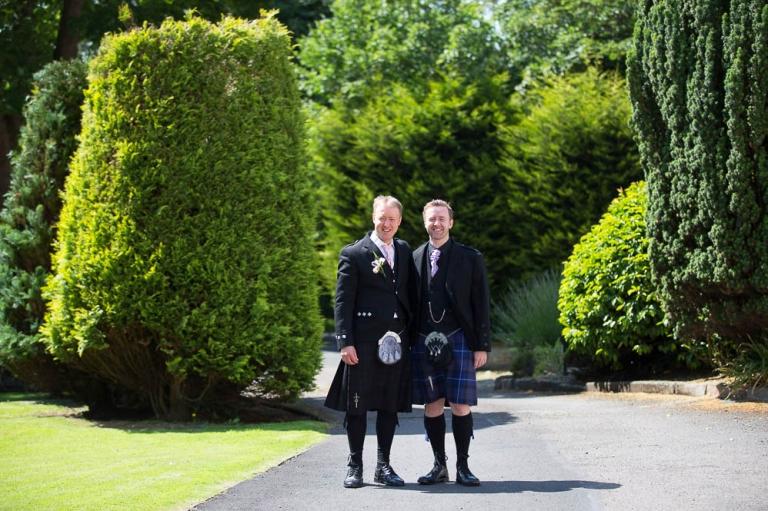 2 groom with bestman