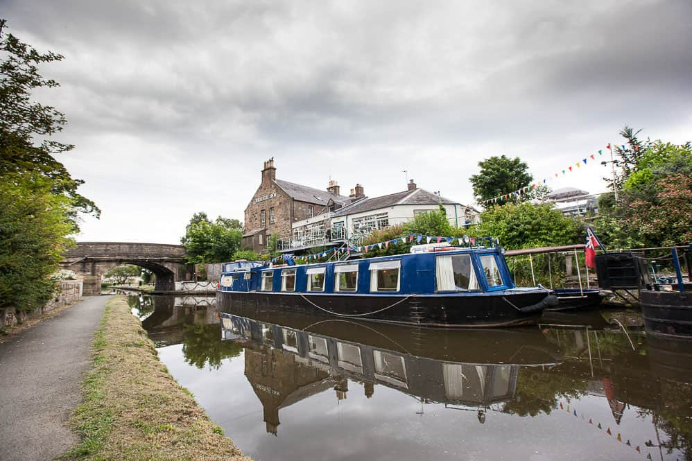 Ratho barge wedding