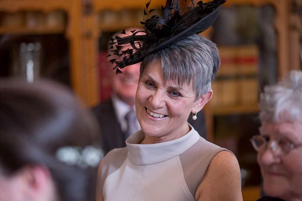 Glasgow City Chambers wedding mother of groom