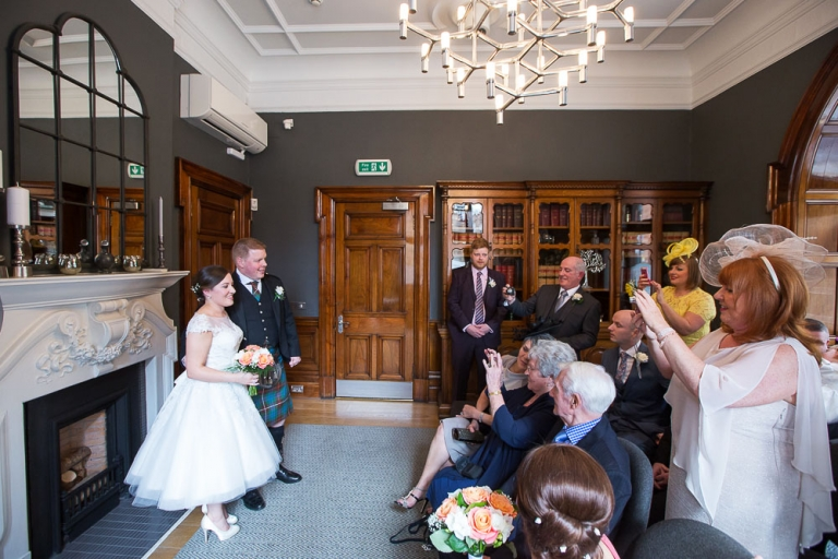 glasgow city chambers wedding