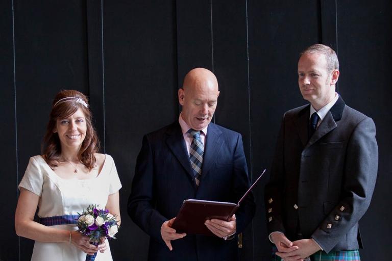 1 wedding ceremony