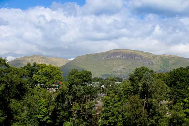 wedding photographer gean house ochil hills view from gean house