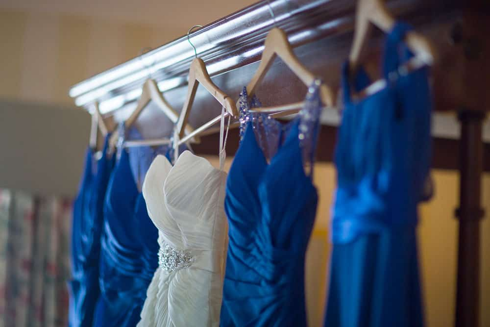 keavil house hotel wedding wedding dresses bridesmaid dresses blue