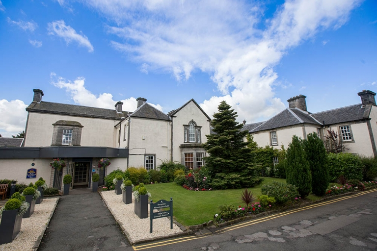 Best Western Keavil House Hotel front building Dunfermline Fife