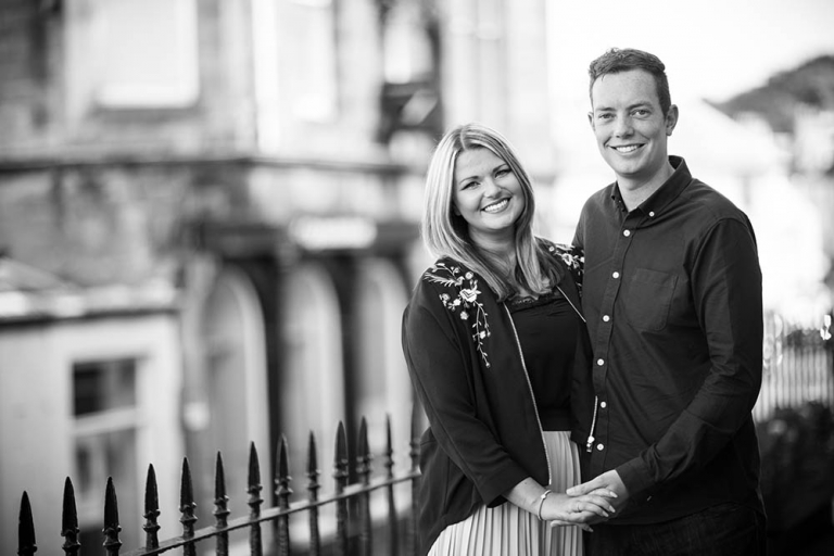 1 engagement photography Edinburgh