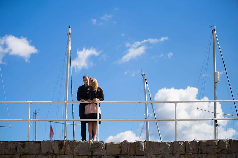 3 engagement photo shoot south queensferry