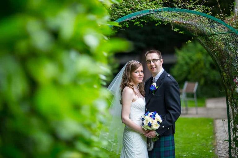 Keavil House Hotel - bride and groom wedding photography - Dunfermline photographer Dalgety Bay