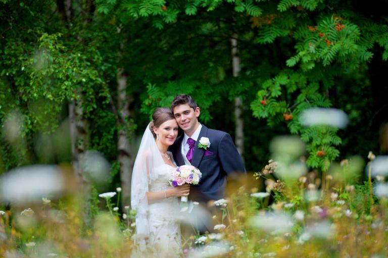 white tree wedding photography