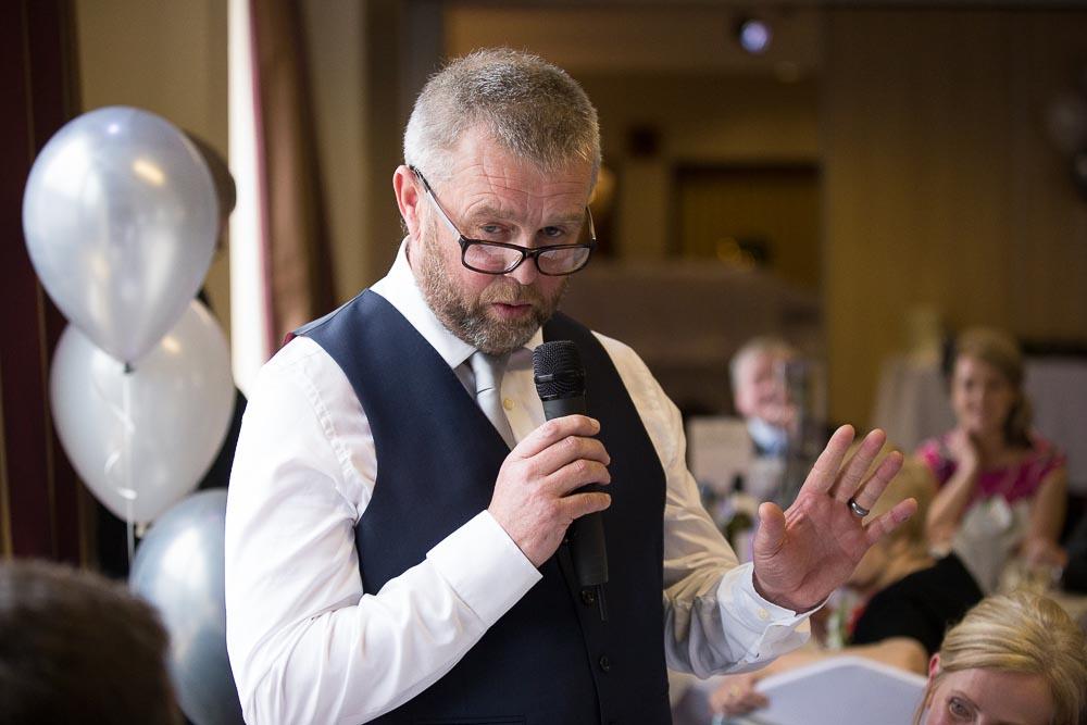 highland wedding photographer, father of bride speech