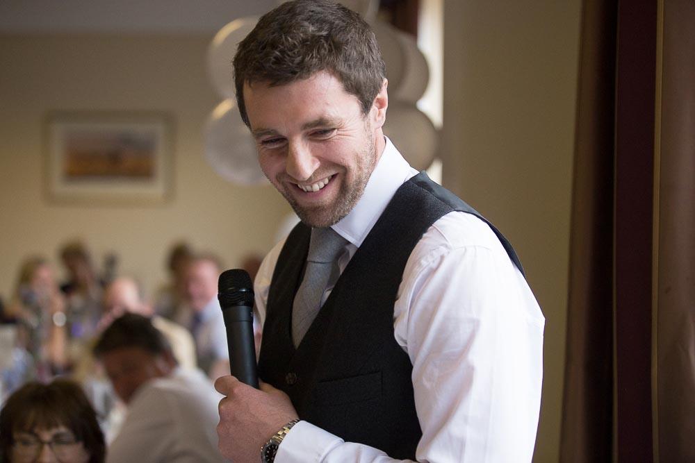 highland wedding photographer, groom