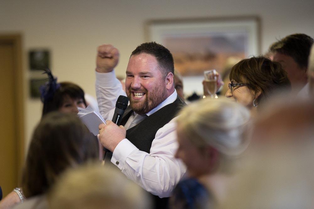 highland wedding photographer, bestman speech