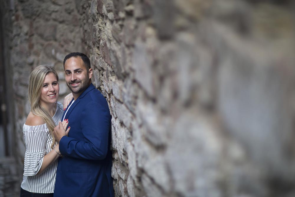 engagement photography Edinburgh happy couple