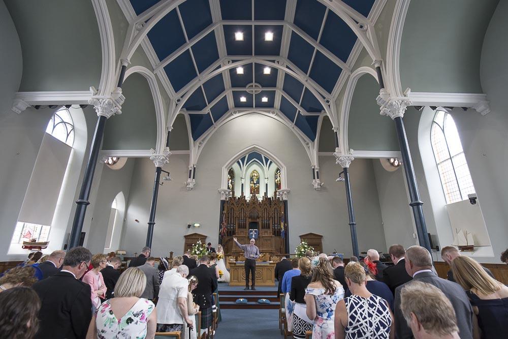 Invercarse Hotel wedding photography dundee 023 - st andrews church arbroath