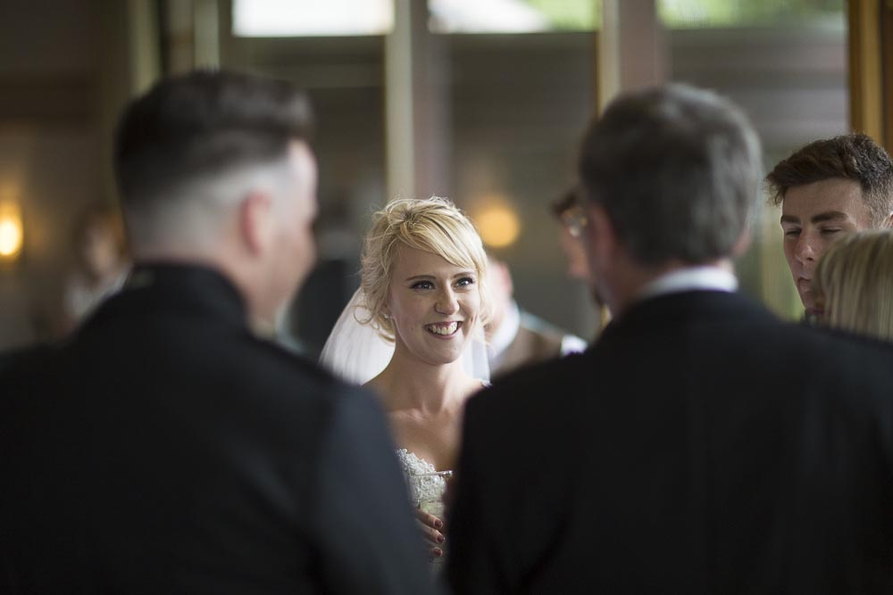 Invercarse Hotel wedding photography dundee - bride