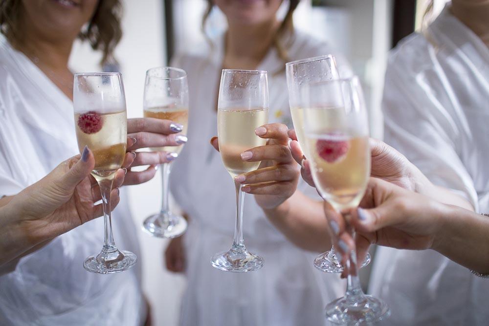 dunblane hydro wedding photography toast