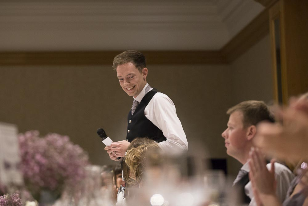 dunblane hydro wedding photography groom speech