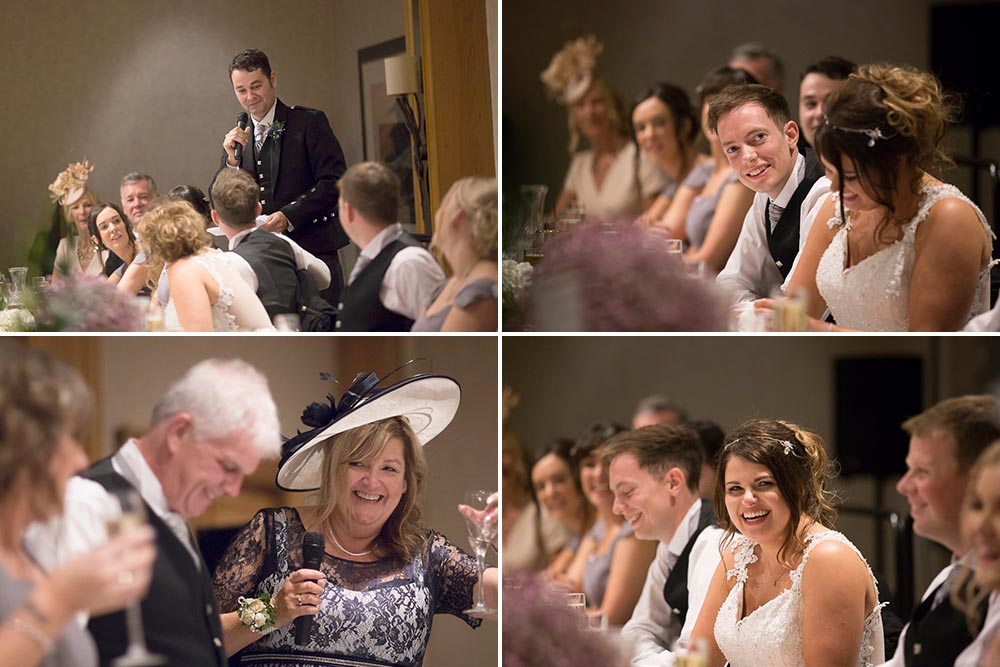 dunblane hydro wedding photography speeches