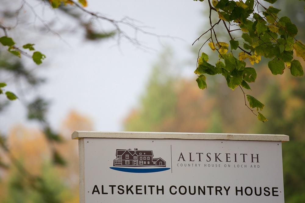 altskeith house wedding photography