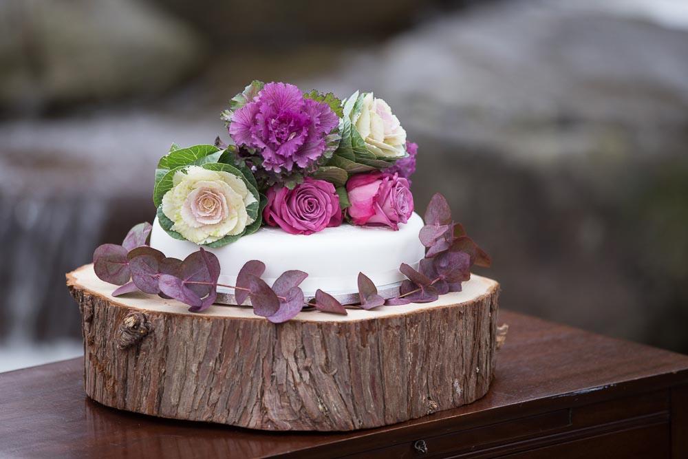 altskeith house wedding photography wedding cake