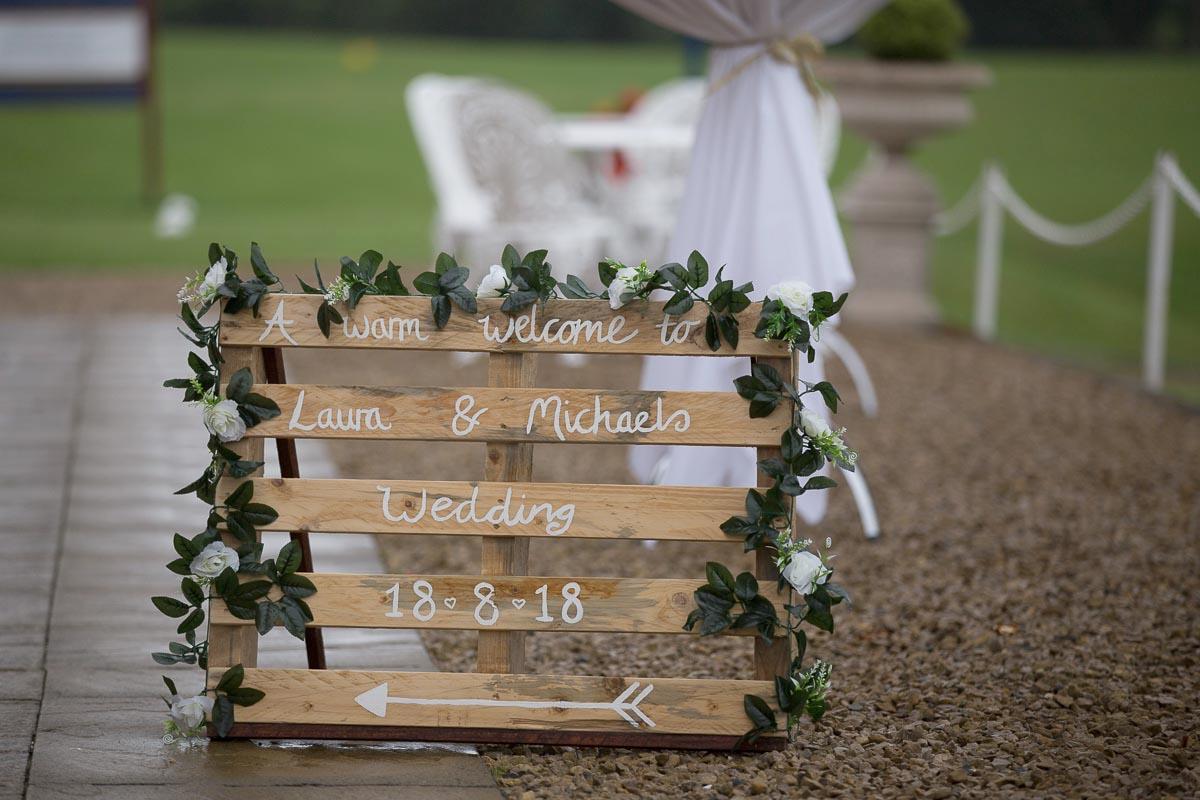 Forrester Park wedding photography wedding sign