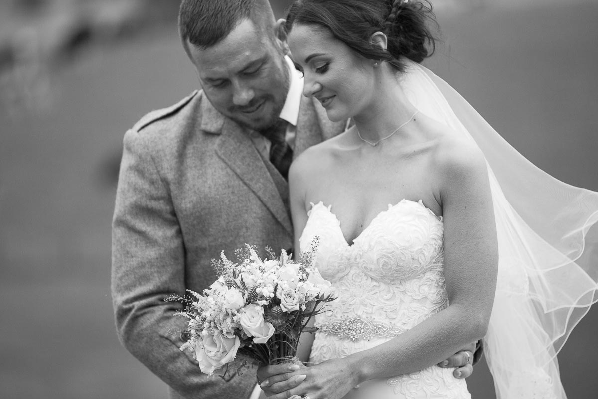 Forrester Park wedding photography romantic bride and groom