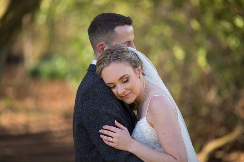 Balbirnie House Wedding Photography romantic bride