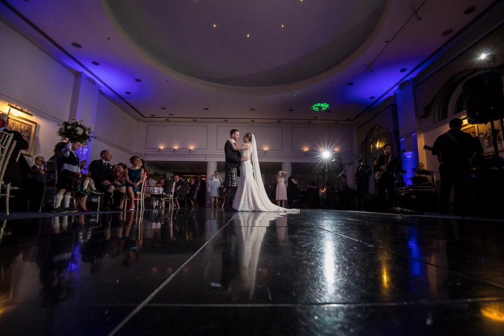 Balbirnie House Wedding Photography first dance