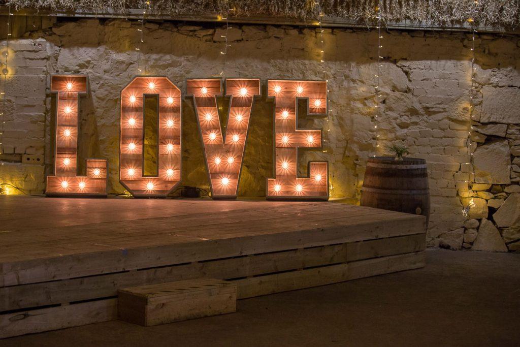 comrie croft love sign