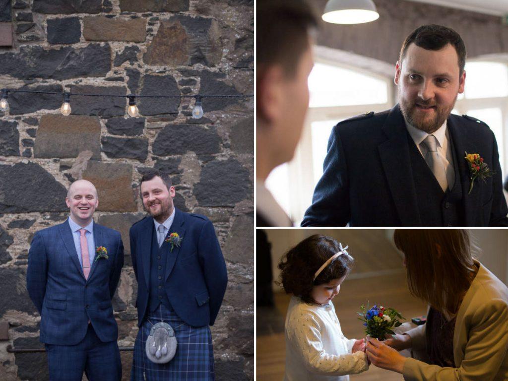 comrie croft groom and bestman