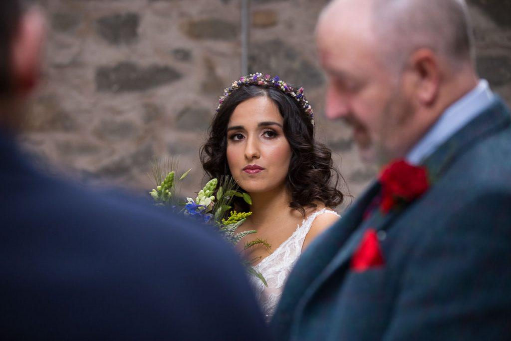 comrie croft bride