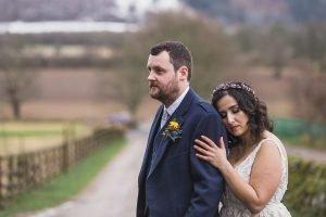 comrie croft romantic bride and groom