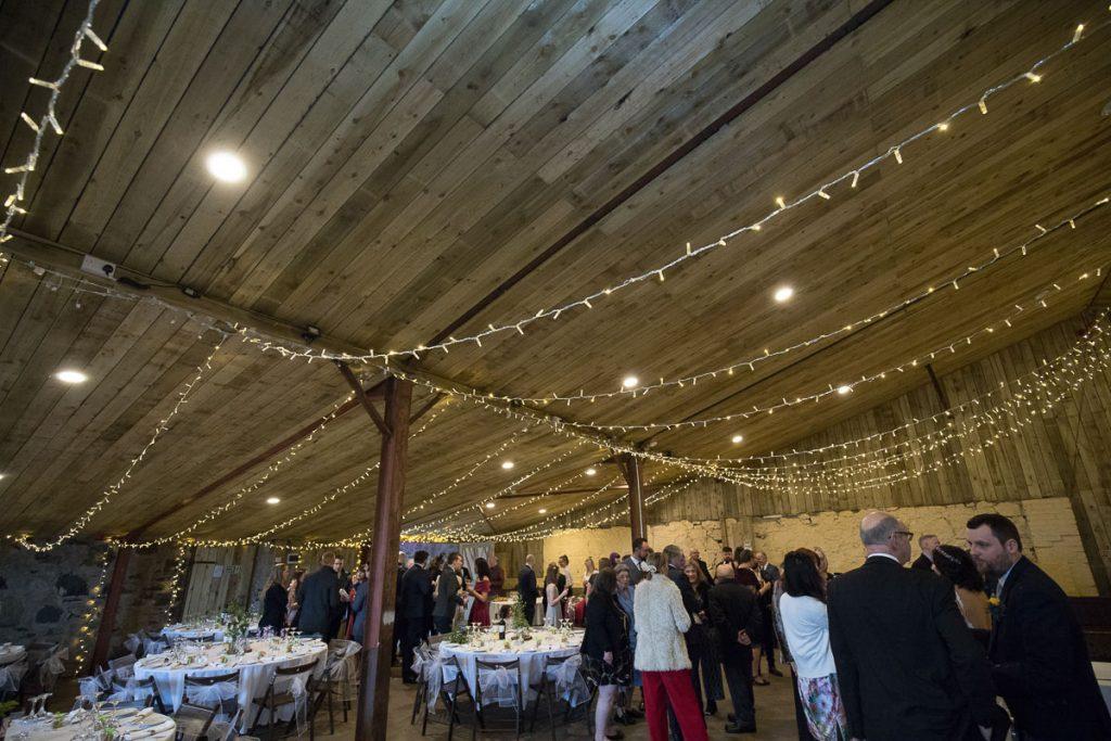 comrie croft wedding reception